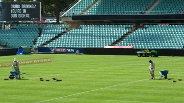 Summer home ... Parramatta Stadium, traditionally the turf of league, will get a Wanderers makeover to accommodate the new team during the A-League season..