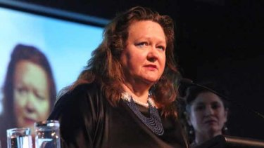Gina Rinehart's companies face 13 counts related to breaches of corporations law.