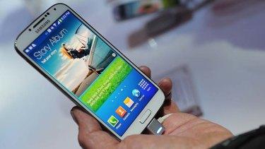 Getting an update: Samsung's Galaxy S4.