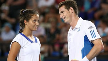 Great Britain's Laura Robson and Andy Murray were the stars at this year's Hopman Cup.
