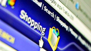 Sudden discovery: Online shopping has surged among the over-65 demographic.