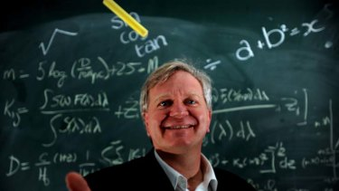 Nobel laureate Professor Brian Schmidt.