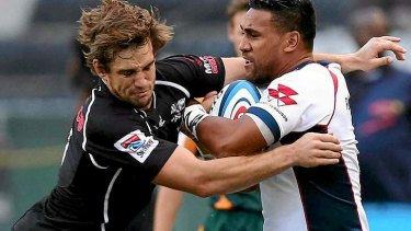 Cooper Vuna returned from injury for the Rebels in Durban on Saturday.