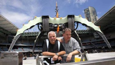 Jake Berry and Willie Williams have been responsible for the design of all of U2 s tours since 1982.