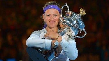 Back-to-back Australian Opens ... Victoria Azarenka.