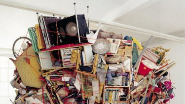 J is for junk ... Sean Corderro's and Claire Healy's <i>Deceased Estate</i> (2004).