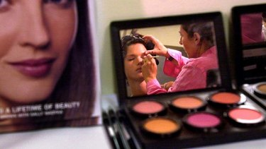 'Purchased in good faith' ... Target says it believed all make-up products were genuine.