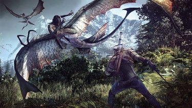 Moral decisions: Fighting beasts in Witcher 3.