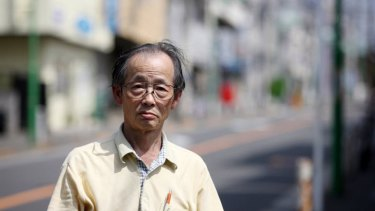 """If I was at home all day, I'd get out of shape and my wife would fret,"" says Hirofumi Mishima, 69."
