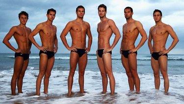 In focus: Australia's men's relay swimmers - Cameron McEvoy, Eamon Sullivan, James Roberts, James Magnussen, Matt Targett and Tommaso D'Orsogna - before the London Olympics.