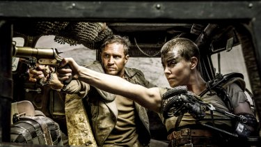 George Miller's Mad Max: Fury Road won best picture and best director at the AACTA International awards in LA.