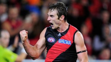 Brownlow Bomber: Jobe Watson's past three seasons for Essendon have been outstanding.