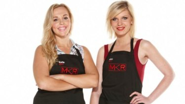 The NSW promo girls Katie and Nikki like to brag that they are almost too hot to be butchers.