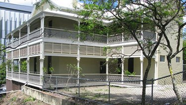 The property at South Bank is listed on the Queensland Heritage Register.