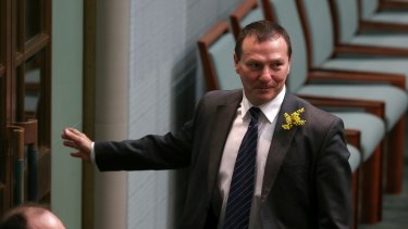 Labor MP Graham Perrett has indicated Mr Brough should stand aside during the investigation.