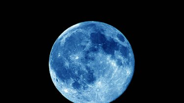 New Year's Eve blues: British revellers will enjoy a blue moon, but Australians will not.