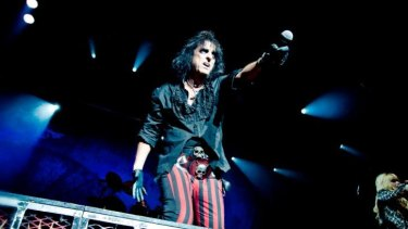 Cooper is currently touring Australia with Mötley Crüe.