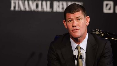 James Packer in a file picture.