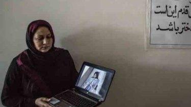 Dr Hassina Sarwari, head of Women for Afghan Women group.