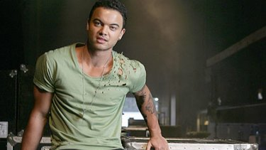 In a bizarre misunderstanding, singer Guy Sebastian was arrested at gunpoint in LA for stealing his own car.