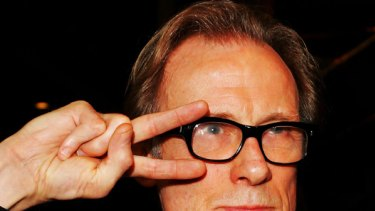Bill Nighy ... photographers were forced to sign a contract before taking his picture.