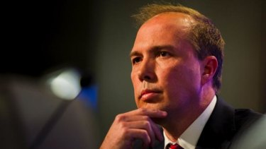 Health Minister Peter Dutton will warn of health cuts in a speech on Thursday.