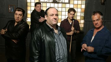 Crime pays: <i>The Sopranos</i>.