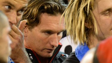 Essendon coach James Hird has been given a copy of the report.