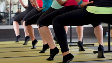 Called to the barre: Ballet exercises help strengthen muscles in the buttocks and legs.