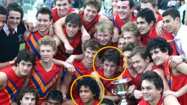 Cyril Rioli and Nick Smith played together as schoolboys at Scotch College. Now they will meet in an AFL semi-final on the hallowed turf of the MCG.