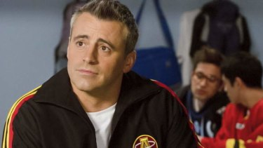 Appalling: Matt LeBlanc in <i>Episodes</i>.