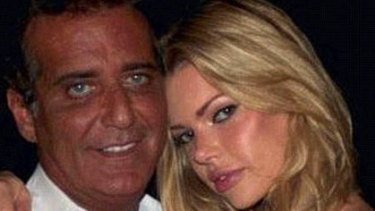 Sophie Monk, pictured with Jimmy Esebag.