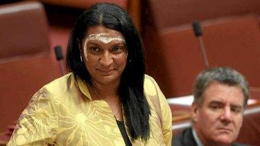 Senator Nova Peris delivers her maiden speech in the Senate.