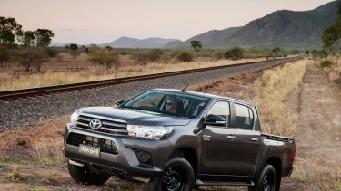 The Toyota Hilux was the fourth-best-selling vehicle in Australia in the latest figures.