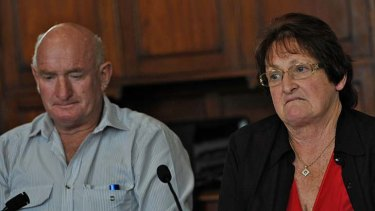 Tim and Helen Watson.