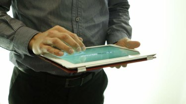Commonwealth Bank says its Daily IQ tablet app is the first of its kind.