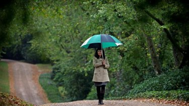 Director Dr Jacqueline Ogeil takes in the autumnal splendour of Mount Macedon's Duneira.