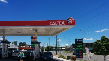 Caltex supplies all 530 of Woolworths petrol stations.