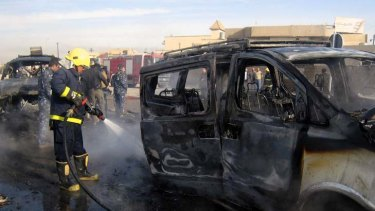 FEBRUARY 23 Iraq ... Suspected al-Qaeda militants unleash a wave of terror across 12 cities, killing at least 60 people in attacks on  buildings including a primary school.