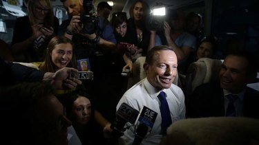 Tony Abbott tells us the budget numbers are deteriorating by $3 billion a week. Well, not any more, they're not.