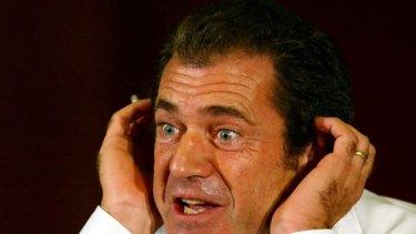 Strange set of rules ...  Mel Gibson.