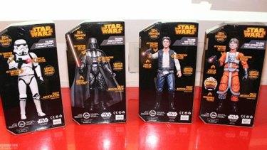 Where are all the Princess Leia dolls?