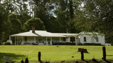 The O'Shannessy Lodge in Warbuton East where the Narconon drug rehab centre is based.
