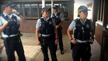 Police keeping a close eye on Dami Im's visit John Paul College.