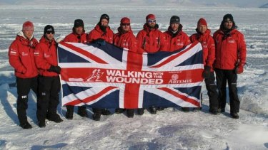 Walking with the Wounded 2011 expedition to the north pole, with Prince Harry.
