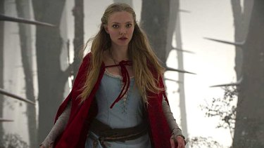 Hidden dangers ... Amanda Seyfried as Red Riding Hood.