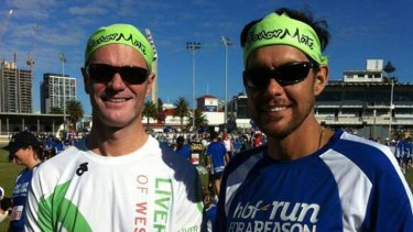 Organ transplant recipients Peter Chwal and Troy Scudds have formed DonorMate.