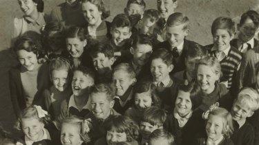 Students at Lockington State School in 1950.