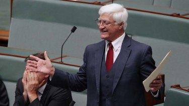 Bob Katter of Katter's Australian Party.