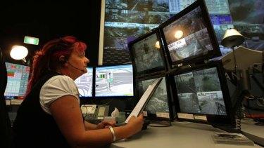 Melinda Eisele, senior traffic operations controller at the Sydney Traffic Control Centre, is the overseer of traffic flows over Sydney Harbour bridge, Australia's busiest traffic corridor.